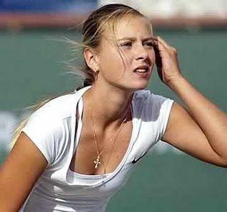 Russian Tennis Beauty Maria Sharpova