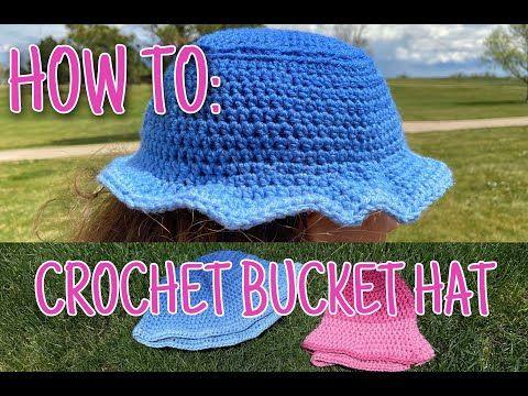 How To Crochet Bucket Hat Youtube Crochet Bucket Hat Crochet Bucket Hat Free Pattern Crochet