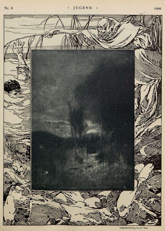 Au carrefour étrange: Jugend magazine, 1896