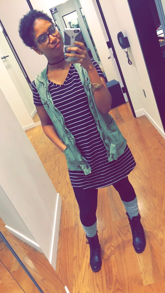 T shirt dress outfit