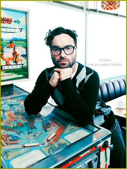 My love Leonard Hofstadter. Smart is the new sexy!