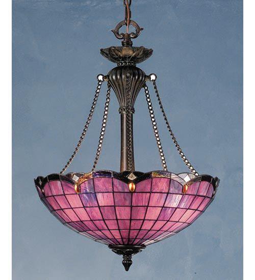 Tiffany Elan Garnet Pendant Ceiling Light