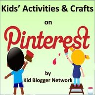 Our own Badge for this Board (thanks to Petunia!) ... a collaborative board from the Kid Blogger Network of Kids' Activities & Crafts!