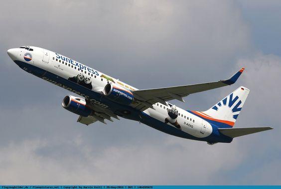 Photo SunExpress Allemagne Boeing 737-8CX D ASXG