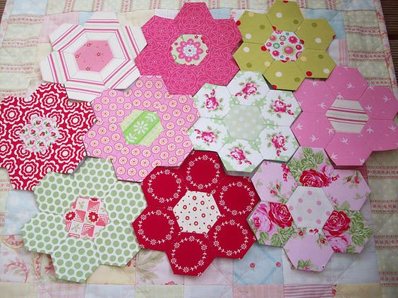 Love the colors in these hexes