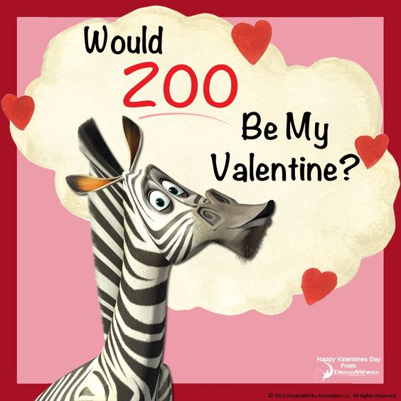 Would ZOO Be My Valentine? - Madagascar, DreamWorks Animation