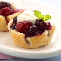 Mixed Berry Tartlets