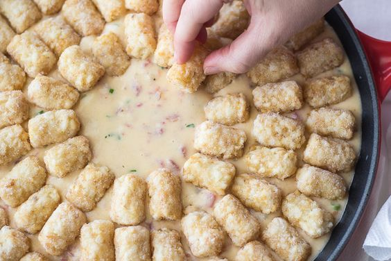 Texas Tater Tot Casserole one of those comfort-food casseroles those of us who hail from the Midwest are pretty familiar with.