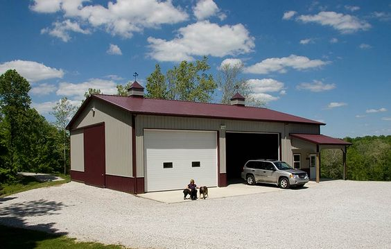Pole barn pics rv storage pole barn garage monrovia for Pole barn home kits indiana