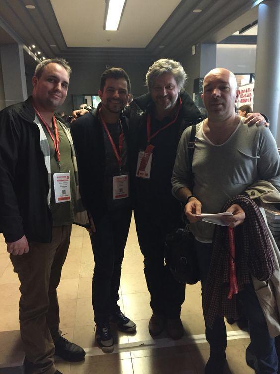 Avec les chefs étoilés Jacques Pourcel, Eric Guerin