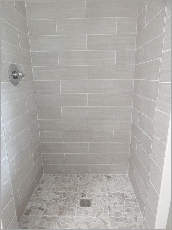 Lowes Tile Shower Base » Fresh Everything From Lowe S Shower Walls 6x24 Leonia Silver Porcelain | Tile Bathroom, Grey Bathroom Tiles, Bathroom Shower Walls