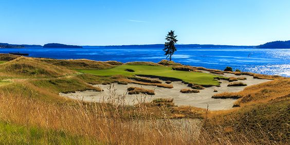 No. 15 at Chambers Bay. Such a beautiful course...