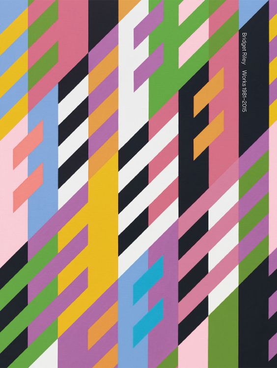 Bridget Riley: Works 1981–2015, Texts by Robert Kudielka and Richard Shiff, David Zwirner Books, New York - London, 2016. Designed by Michael Dyer
