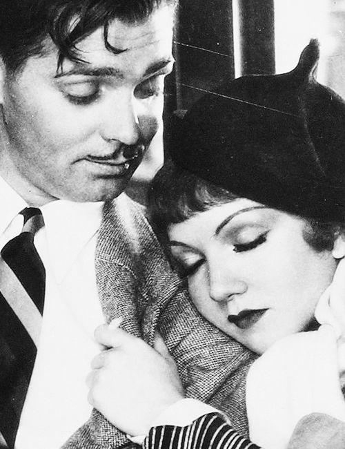 It Happened One Night.  Clark Gable & Claudette Colbert.  My very favorite old movie.  CLASSIC.  Hilarious.: