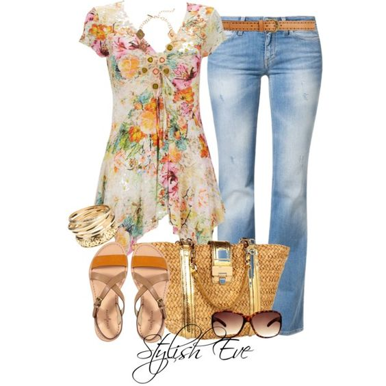 """Untitled #1835"" by stylisheve on Polyvore"