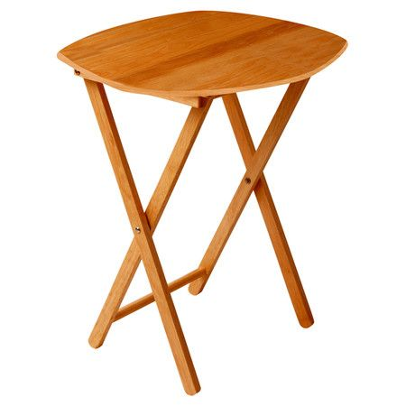 PAINT IT With its folding design, this is the perfect side table to whip out when friends drop by and need to rest their cup of tea or flute of champagne. Crafted fro...