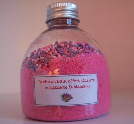 biotytille poudre de bain moussante bubblegum - Colorant Bain