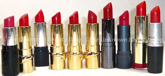 The Finale of the Lipsticks and Lipglosses - The Reds and the Wines