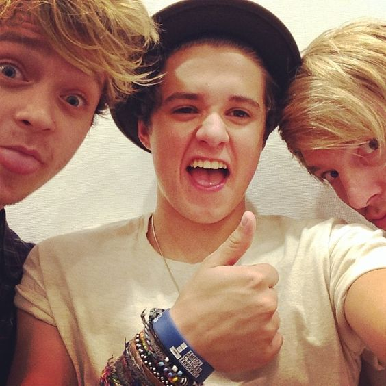 Brad and Connor and Dean