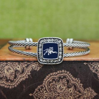 Jackson State Tigers Square Cuff Bracelet