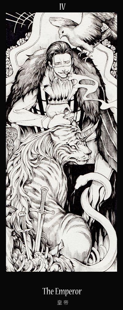 Tags: Anime, Fanart, ONE PIECE, Baroque Works, Sir Crocodile