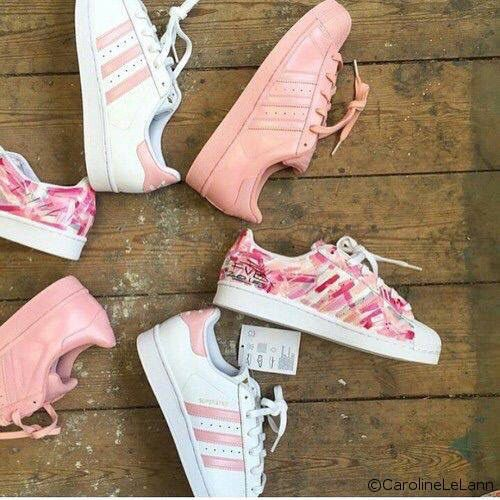 Adidas Chaussure Rose Pale