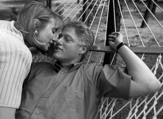 Former President Bill and Secretary Hillary Clinton. Photo by Annie Leibovitz.