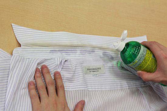 あっという間に取れる ワイシャツの黄ばみを真っ白にする2つの裏技 お掃除 ワイシャツ 襟 お掃除の裏技
