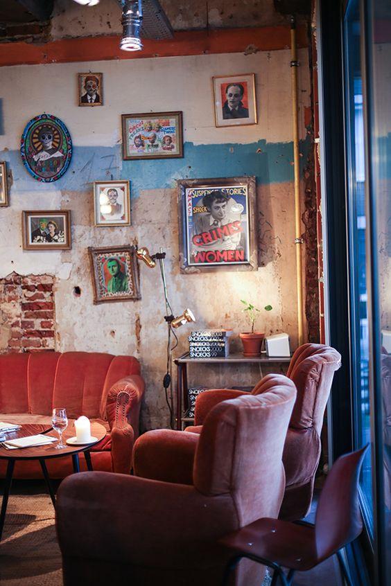 interior of de superette, ghent, belgium   foodie travel + restaurants