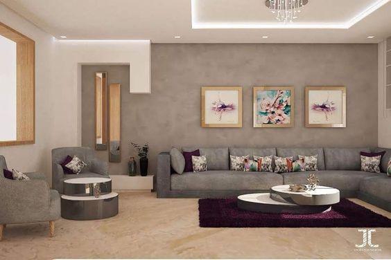 Salon moderne – salon moderne design gris – INSIDESIGN BY ...