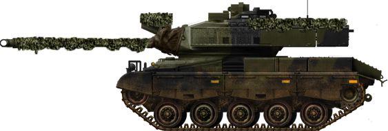 """Danish M41DK, the """"Mini Leopard"""""""
