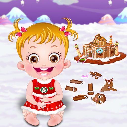 لعبة بيبي هازل بيت الزنجبيل Baby Hazel Gingerbread House Baby Hazel Free Baby Stuff Free Games