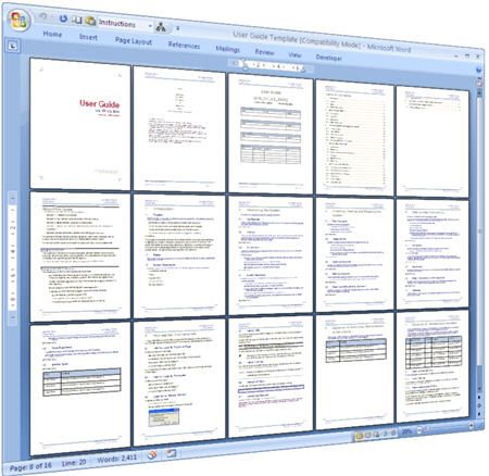 User Guide Template Word. User Guide Template Download Ms Word ...