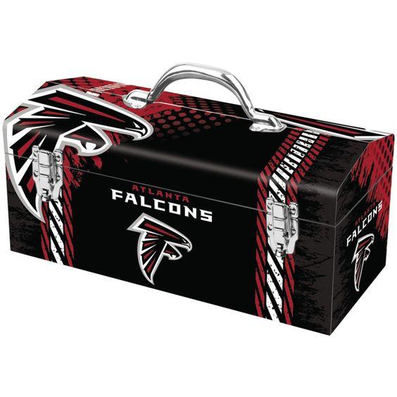 "SAINTY 79-302 Atlanta Falcons(TM) 16"""" Tool Box"