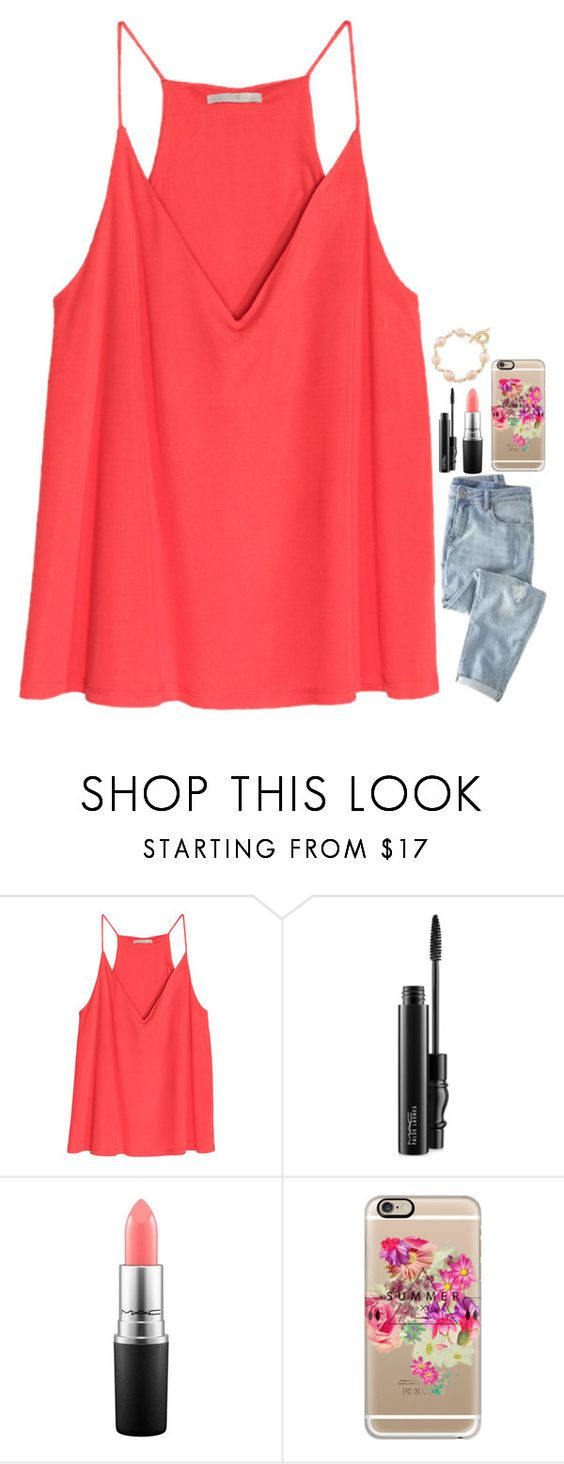 """""""・it's like my iPod stuck on replay・"""" by rachiepoo13 ❤ liked on Polyvore featuring J.Crew, MAC Cosmetics, Casetify and Carolee"""