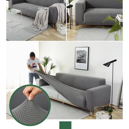 High Quality Elastic Dust Proof Sofa Cover Sofa Cover Black Friday Sale Avec Images Housse Canape Deco Maison Housse Divan