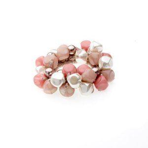 Caravan Multi Color Pinch Bead Ponytail $12