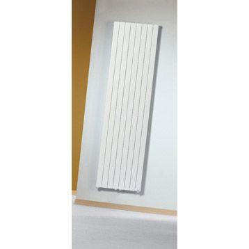 Radiateur chauffage central acier loden planitude 954w mat riaux pintere - Branchement radiateur chauffage central ...