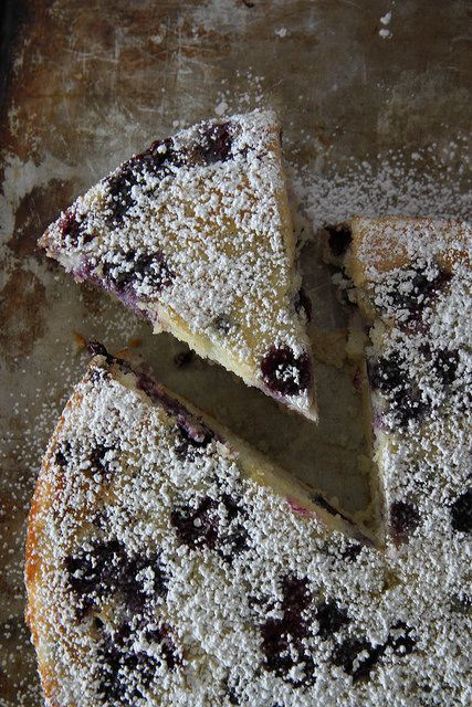 Lemon Blueberry Buttermilk Cake by Heather Christo, via Flickr