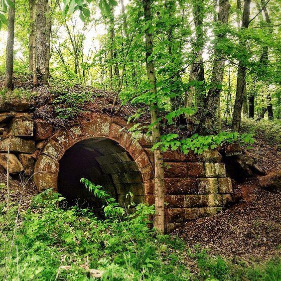 Old Railroad Trestle Ohio - Photo by Amanda Hearn