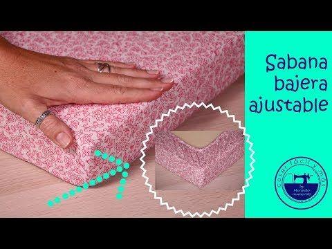 Coser una sábana ajustable es fácil. Mira cómo hacerlo para