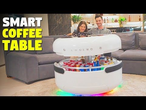 this smart coffee table with a