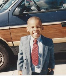 Cam Newton 5 years old