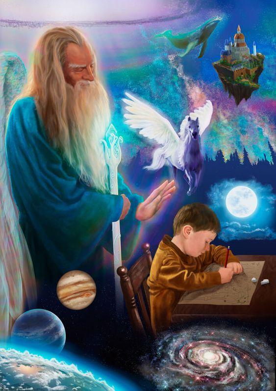 Archangel Raziel - The Secret Of God - The Patron Of Mysteries