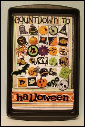 Halloween: Countdown Ideas, Sheet Calendar, Countdown Calendar, Diy Crafts, Holidays Halloween, Halloween Crafts, Advent Calendar, Halloween Ideas