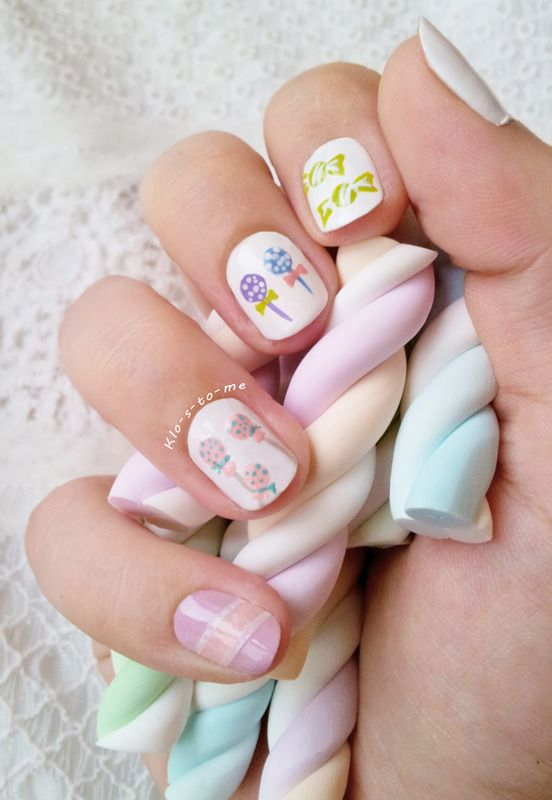 Nailpolis Museum of Nail Art | I want candies ! by klo-s-to-me