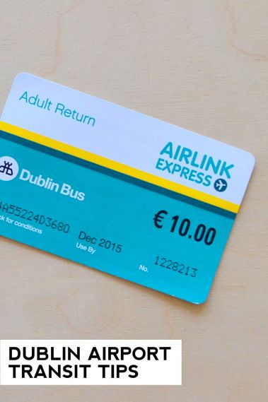 Dublin Airport Transit Tips - How to get to/from the Dublin airport in Ireland.
