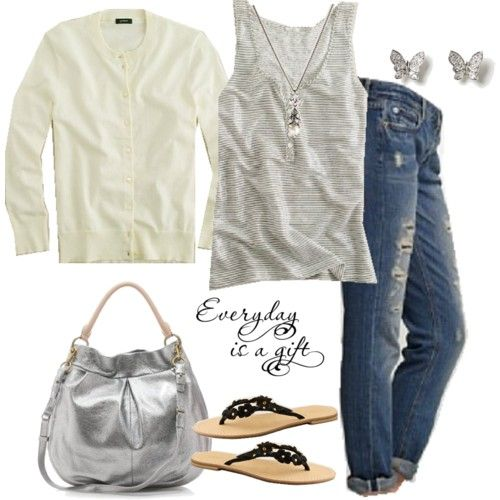 A cardigan makes every outfit better!