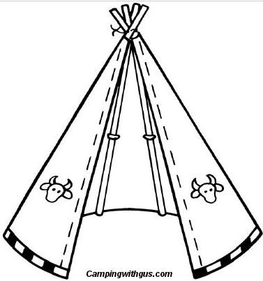 How to Make a Camp Teepee for the Kids by campingwithgus: Made with long sticks, an old bedsheet and some twine. #Kids #Teepee #campingwithgus
