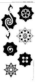 Pin Borneo Rose Professional Tattoo Machine Cosmetic Tattoos On #borneo #tattoos
